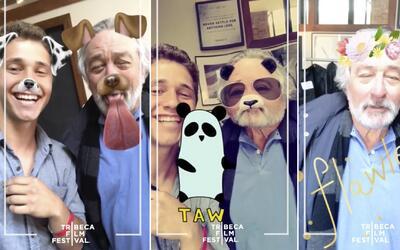 Robert De Niro y su divertido debut en Snapchat