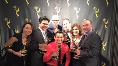 Noticias Univision 14 gana nueve premios EMMY