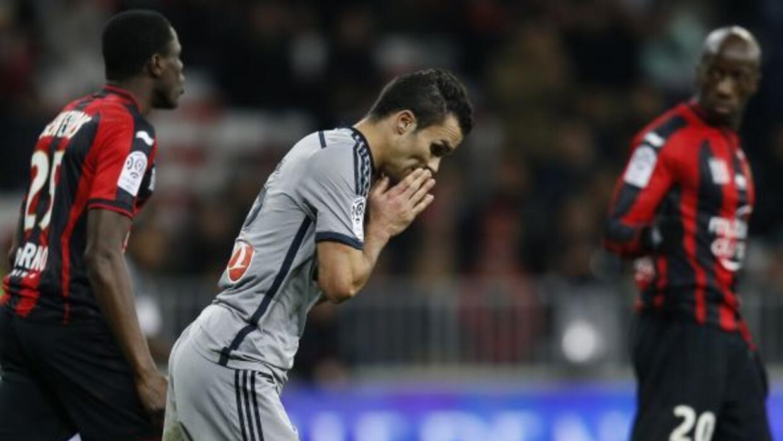 Jeremy Morel lamentó una falla que le costó la derrota al Olympique.
