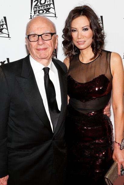 Y no era tanto el amor... el millonario Rupert Murdoch de 84 y su esposa...