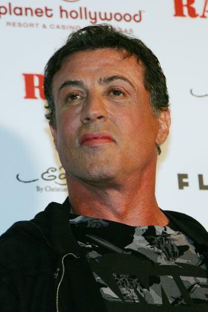 Por lo visto, si Sylvester Stallone se volviera mujer sería toda...
