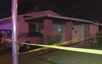 Hombre fue baleado a las afueras de su casa en Miami-Dade