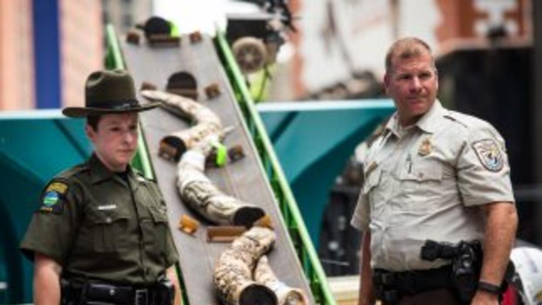 El marfil destruido fue decomisado en 2009 en una tienda de Philadelphia