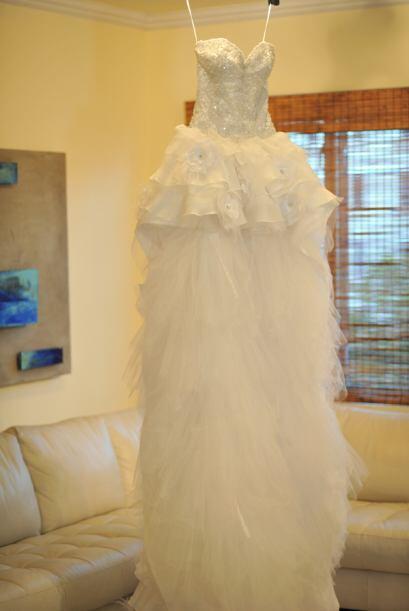 La modelo mexicana confesó que al principio no decidía si quería un vest...