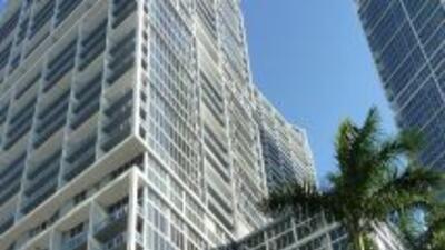 Condominios en la lujosa área de Brickell.