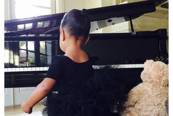 La hija de Kim Kardashian y Kanye West no sólo quiere practicar b...