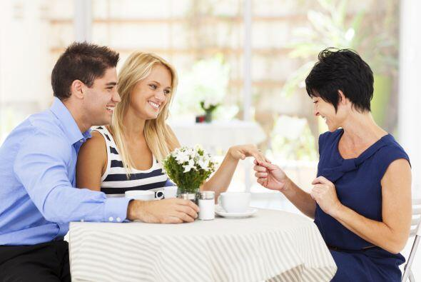 Encontrarte con tu mamá en el mismo lugar:  O con cualquier otro...