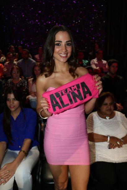 Jenny Arzola, quien también participó en Nuestra Belleza, apoya 100% a A...