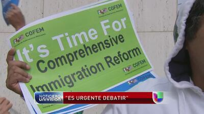 Algunos legisladores están preocupados por el lento paso de una reforma...