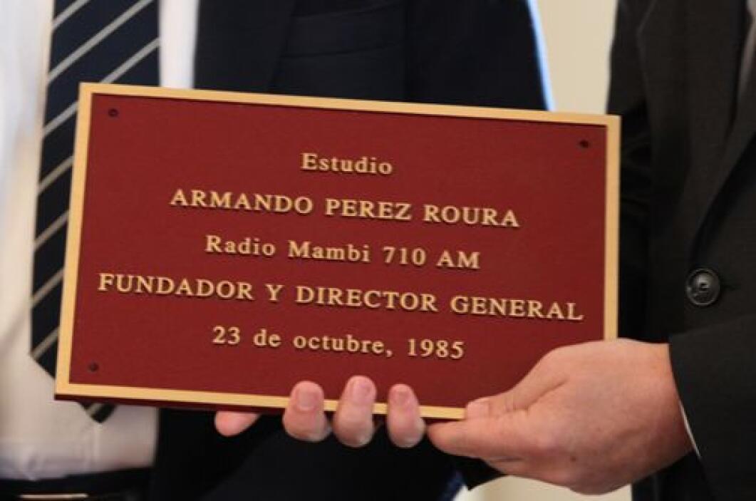 Armando Pérez Roura estudio por Pepe Forte