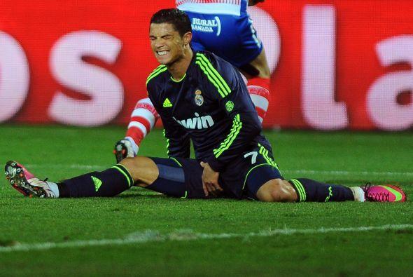 El Madrid se fue deshaciendo poco a poco a medida que pasaban los minutos.