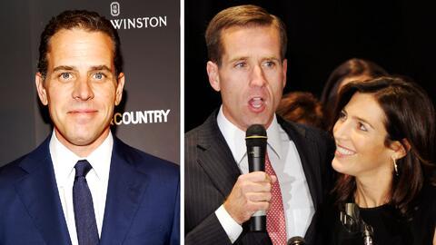 Polémica en Washington: La viuda del hijo de Joe Biden ahora es pareja d...