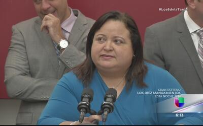 Melba Acosta niega acusaciones de aumento de sueldo