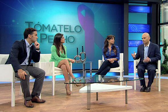 Hace 4 años a la actriz Lorena Rojas se le detectó un tumor maligno de s...