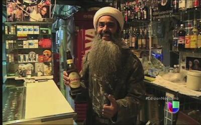 Empresario brasileño saca provecho de su parecido con Bin Laden