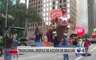 Tradicional desfile de Acción de Gracias