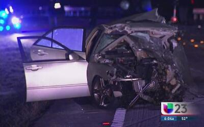 Tres muertos por aparatoso accidente en la avenida Krome