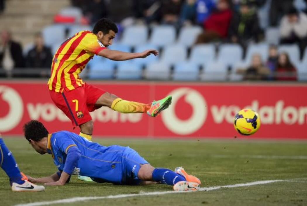 El mismo delantero español puso el 2-2 al minuto 41.