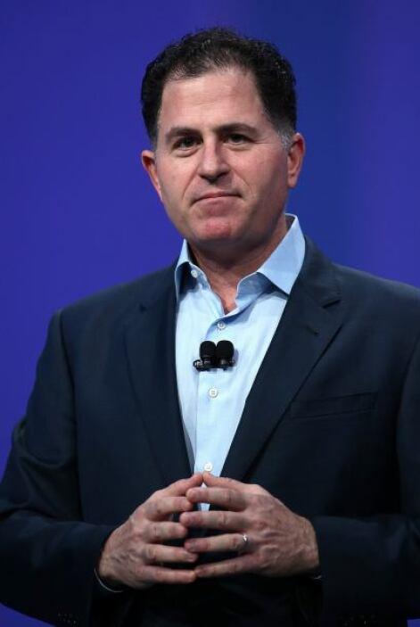 9. Michael Dell, fundador de Dell Inc., cuenta con un patrimonio de 1,00...