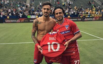 FC Dallas se acordó de Mauro Díaz al ganar el Supporters'...