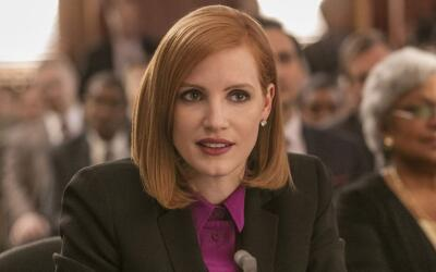 Jessica Chastain es 'Miss Sloane'