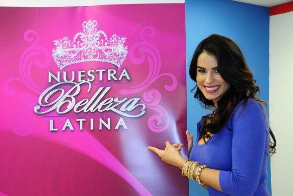 Para Vanessa Nuestra Belleza Latina ha sido una experiencia única.