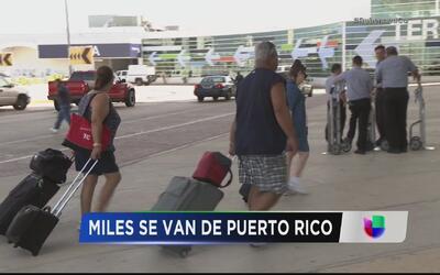 Sigue en aumento la emigración de puertorriqueños