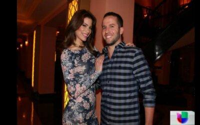 Viviana Ortiz y JJ Barea