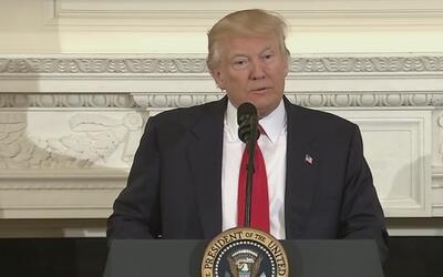 Trump quiere aumentar en $54,000 millones el gasto militar en sus primer...