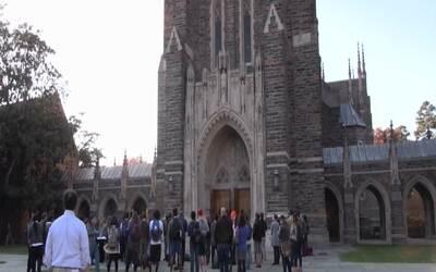 Estudiantes de Duke presentan una solicitud formal para convertir a la c...