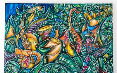 Alexander Mijares, el artista nacido en Miami e internacionalmente aclam...