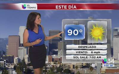 Los Ángeles tendrá un miércoles de calor intenso