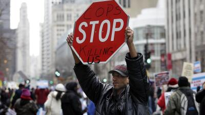 Protesta en Chicago