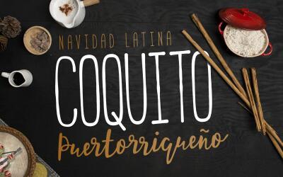 Coquito puertorriqueño