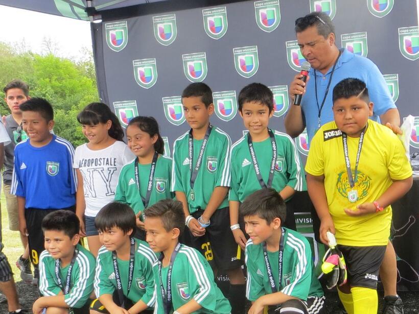 Estos fueron los campeones del primer día del torneo Copa Univision Chic...