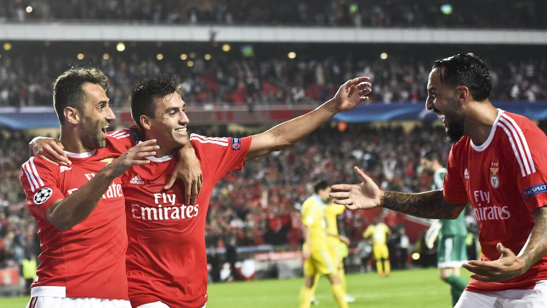 Benfica ganó en Champions como local.