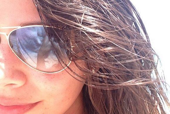 Las pequitas de Ana salieron a saludar al sol en este bello día....