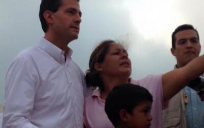 La mañana de este martes el presidente de México, Enrique Peña Nieto, re...