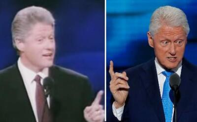 La historia de amor entre Bill y Hillary Clinton en el escenario de las...