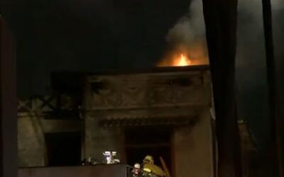 'Los Ángeles en un Minuto': continúa la investigación del grave incendio...