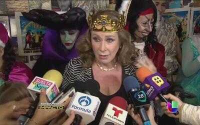 Laura Zapata perdió los estribos en una conferencia de prensa