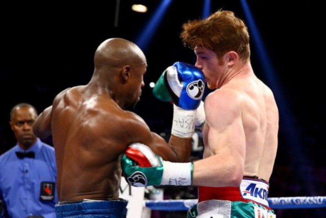 El 'sí se puede' de los mexicano se diluyó ante la clase de boxeo que le...