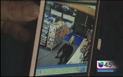 Captan en video un robo que terminó en asesinato