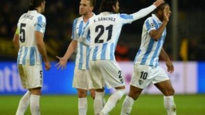 Baptista anotó el gol del triunfo malacitano.