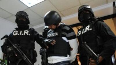 La operación que derivó en la detención contó con el apoyo de agentes de...