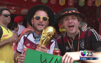 Alemania rompe en Brasil la maldición de los equipos europeos