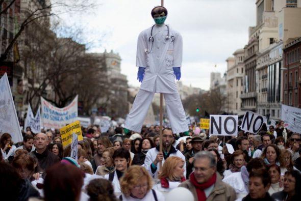 La manifestación del domingo se enmarca en las movilizaciones que...