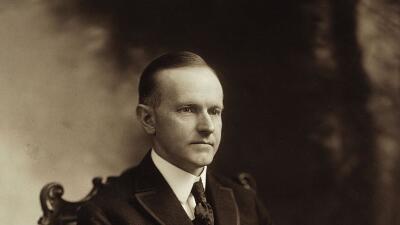 Calvin Coolidge, el trigésimo presidente de Estados Unidos.