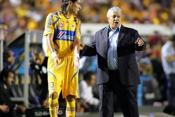 Con Tigres 'brilló' un poco más en 2007 logrando siete goles en un torne...