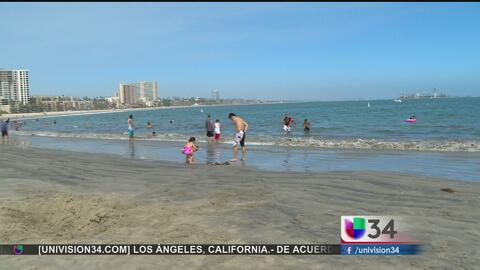 Reabren playas de Long Beach y Seal Beach